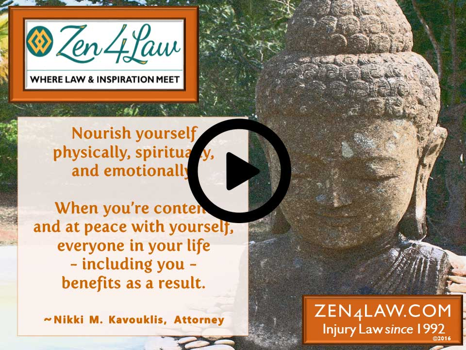 Inspiring Legal Advice – Nourish Yourself
