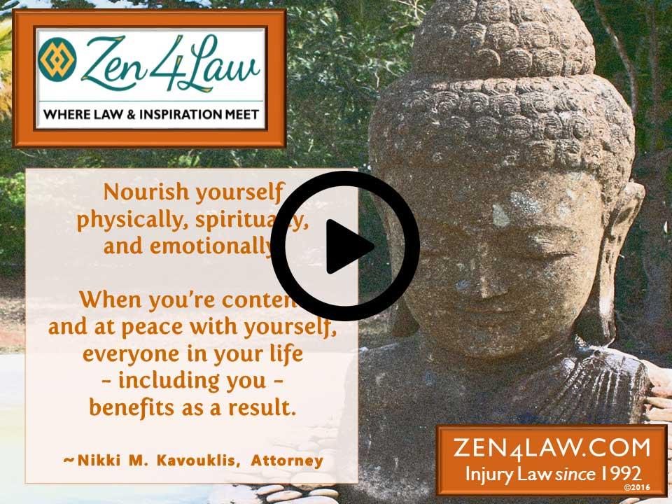 Inspiring Legal Advice – Nourish Yourself